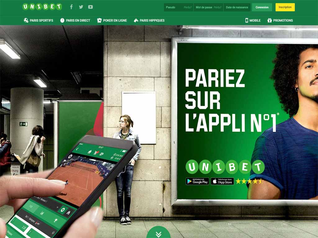 application Unibet